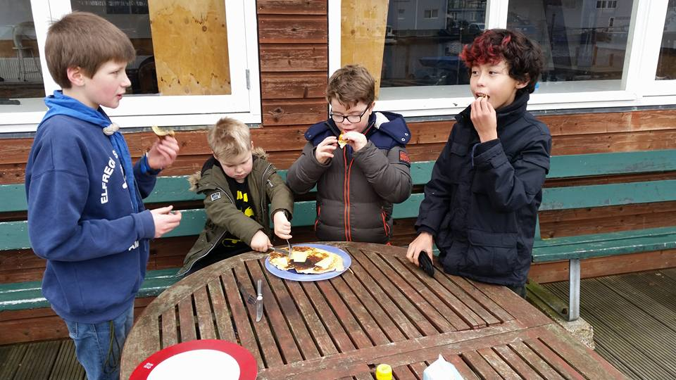 Welpen van Scouting Elfregi Amsterdam