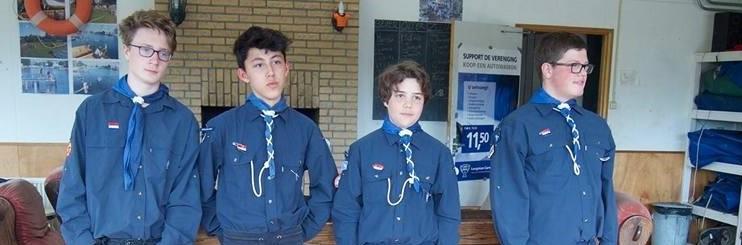 Zeeverkenners van Scouting Elfregi Amsterdam