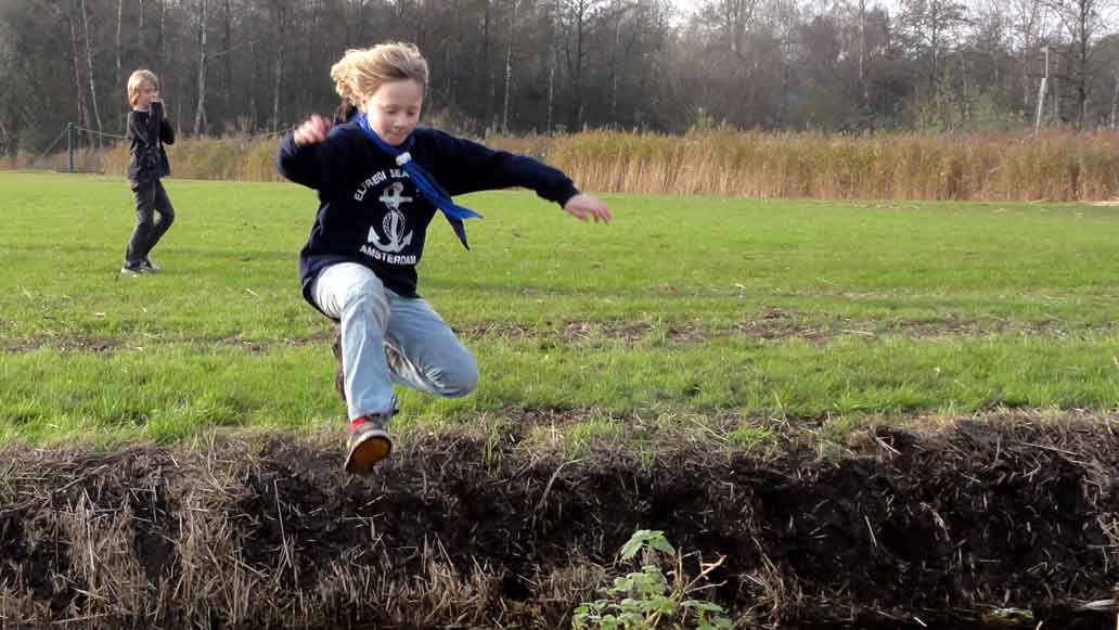 Bij Scouting Elfregi Amsterdam zeilen we vaak.